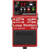 BOSS Guitar Effect Loop Station [RC-3] - Gitar Stompbox Effect